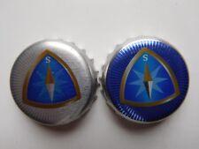 Bavaria beer bottle caps set of 2 different