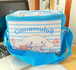 Cinnamoroll dog white PU square lunch bag handbag storage bags fashion  gift
