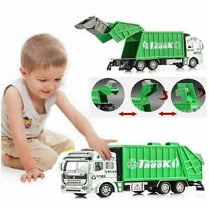 8 inch Garbage Truck Trash Bin Lorry Vehicle Toy Diecast Models Car Kids Gift