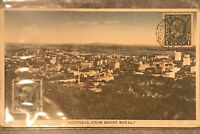 "rppc Postcard 1933 ""Montreal From Mount Royal"""