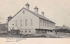 Barn at U.B. Orphange Home in Quincy PA Postcard