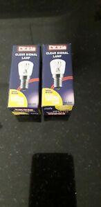 Lyvia  15W Fridge / Appliance / Sewing Machine Pygmy Bulb SES E14 x 2 Pack