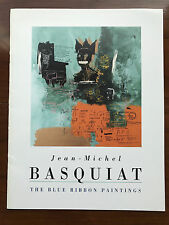 Jean-Michel Basquiat, The Blue Ribbon Paintings - 1994 - Exhibition S/C Book