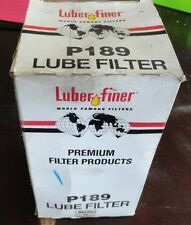 Luber-Finer P189 Oil Filter (See Discription for Compatible Equipment)
