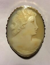 old CAMEO BROOCH