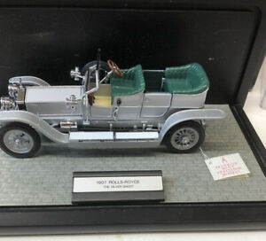 Franklin Mint Precision Models 1907 Rolls-Royce The Silver Ghost 1:24 Scale
