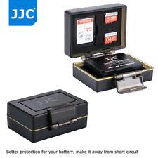 JJC Camera Battery Case SD Memory Card Case for Fujifilm NP-W126 X-Pro1/2 X-E1/2