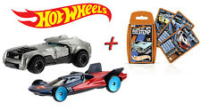"Hot Wheels "" Batman V Superman "" (2er Pack) + Top Trumps Game Card Game"