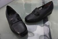 leichtfüßig SEMLER Damen Comfort Schuhe Mokassins Slipper Gr.5 K 38 schwarz NEU