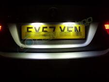 501/W5W Canbus Sans Erreur LED Ampoule Plaque Immatriculation Peugeot 207 307