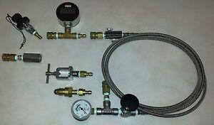 Oxygen Transfill SCUBA Tank Whips For Nitrox/Trimix/Helium/Haskel, etc.