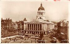 BR70038 the city centre and  council house nottingham real photo  uk