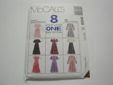 McCall's Pattern #8009-Children's and Girls Dress-Sizes 4, 5, 6