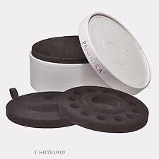 Authentic Pandora White Circle Leather Travel Box *BOX ONLY*