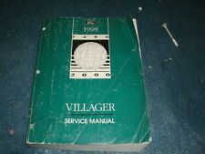 1998 MERCURY VILLAGER FACTORY FORD SHOP SERVICE MANUAL NICE COMPLETE