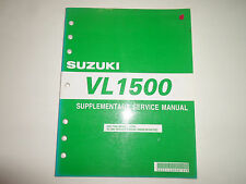 2005 Suzuki VL1500 Supplementary Service Manual MINOR COSMETIC DAMAGE FACTORY 05
