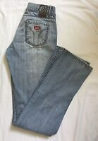 Miss Sixty Women's Tommy One Distressed Light Wash Jeans Size 26