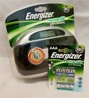 ENERGIZER UNIVERSALE CARICABATTERIE + 4 AAA 800MAH Batterie NUOVO AA AAA 9V C D