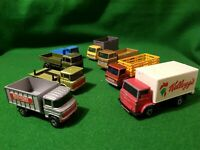 8 x Matchbox Lesney  lorry  truck  job lot vintage diecast daf mercedes rare