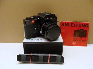 """Leitz Wetzlar - Leica R3+ Summicron-R 1:2/50mm """"gepflegte Gebrauchte"""" - TOP!"""