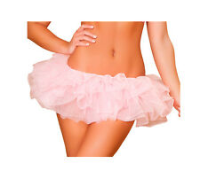 Costume Dress Basic Fluffy Mini Petticoat Skirt Tutu Cosplay Formal Made In USA