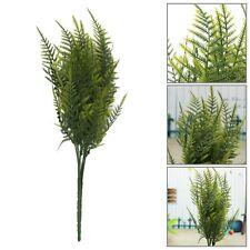 Artificial Emulation Asparagus Fern Bush Foliage 35 Leaves Home Office Decor