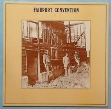 FAIRPORT CONVENTION ~ ANGEL DELIGHT ~ UK 10-TRACK LP RECORD [1980's BLUE LABEL]