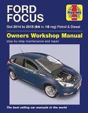 Ford Focus Repair Manual Haynes Manual  Workshop Service Manual 2014-2018