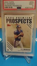 2004 TOPPS #PP5  ELI MANNING ROOKIE RC~PREMIERE PROSPECTS N.Y 🏈 GIANTS, PSA9🔥