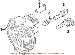 Genuine OEM Fog Light Adjusting Screw for Mini 63172755723