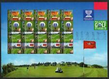 MALAYSIA MNH 1999 World Cup Golf Championship Sheetlet