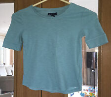 Girls GAP Green T-shirt Top Size 6-7 Years