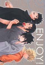 NARUTO Doujinshi ENJOY! Naruto X Sasuke , Shisui X Itachi (B5 28pages) TOSYOEN