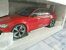 AUDI A6 RS6 RS 6 Avant Quattro red rot C8 2020 NEU 155018010 Minichamps 1:18