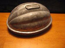 Vintage Kreamer Pudding Cake Bread Jello Tin Mold Pan OVAL RIBBED