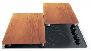 Stoneline 2er Herdabdeckplatten Holzoptik Herdplatte Schneidebrett IIWahl 17899