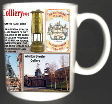 ALLERTON BYWATER COLLIERY COAL MINE MUG LIMITED EDITION WEST YORKSHIRE MINERS