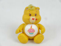 Care Bear Birthday Bear Vintage 80's Figure 9cm 3.5 inches