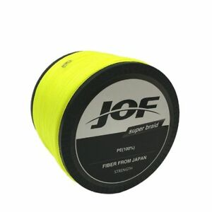 Braided Fishing Line 1000M Super Strong Multifilament 8 10 20 30 40 60 80 100 LB