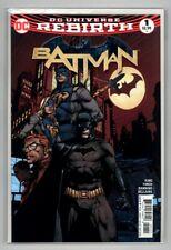 Batman #1 (2016) David Finch Cover Dc Comics 2nd Print