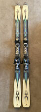 Rossignol Bandits X Free Ride 160cm Skis With Salomon C610 Bindings