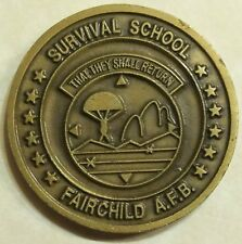 Survival Evasion Resistance Escape SERE Air Force Challenge Coin