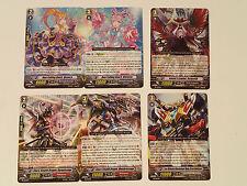 CardFight! VANGUARD lot of 6 promo cards:159EN-164EN Mandoracongo Daranicongo