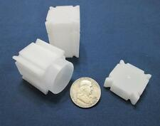 5 Half Dollar Square Coin Tubes  Archival Quality  Halves