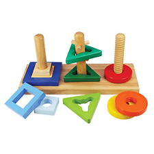 Bigjigs Toys Wooden Twist and Turn Puzzle
