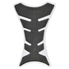 3D Motorcycle Modified Gel Oil Fuel Gas Tank Pad Protector Decal Sticker Black