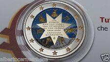 2 euro 2014 Grecia colorato 150 isole Ioniche ionian Greece Grece Griechenland