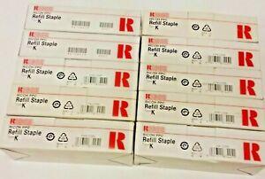 Ricoh PPC  Refill Staple Type K  410802  Lot of 10