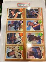 1991 Baseball Cards Mag. Repli-cards 9-card PANEL Ken Griffey Jr. PSA 1 POP 1
