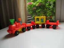 👿 Ancien Jouet Train Clairbois Made In France Vintage